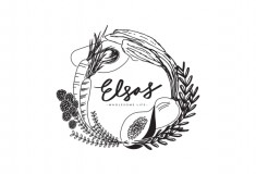 Elsa's Wholesome Life – Brand Identity